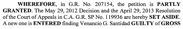 santi dispositive